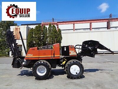 Ditch Witch 410SXD  - Trencher - Cable Plow - Diesel - Articulting