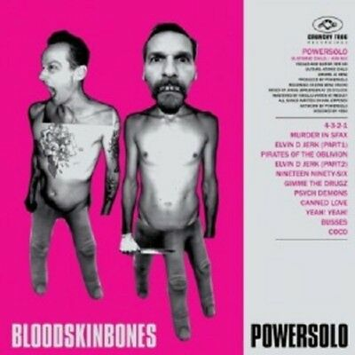 Powersolo - Blood Skin Bones  CD  12 Tracks  Alternative Rock & Pop  Neuf