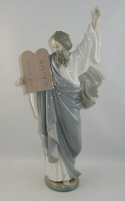"Lladro Figurine 5170 ""MOSES"" Retired 2000"