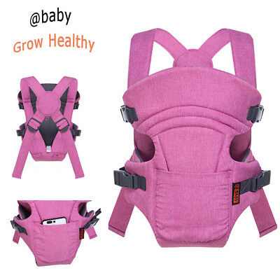 Classic Soft Infant Baby Carrier Front Backpack Breathable Light Weight 8-25 Lbs