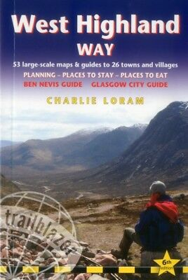 West Highland Way: 53 Large-Scale Walking Maps & Guides to 26 Tow...