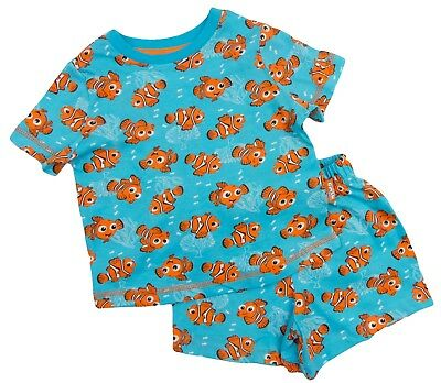 Finding Nemo Pyjamas Short And T Shirt Set Age 12-18 Month To 9-10 Year