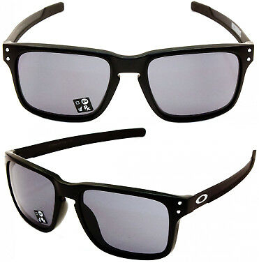 fefd73ccb3 NEW OAKLEY HOLBROOK MIX Woodgrain Frame Prizm Black Iridium Lenses OO9384- 0457.