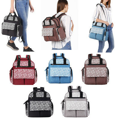 15706305e7 Nappy Mother Mummy Backpack Diaper Bags Baby Newborn Pad Changing Shoulder  Bag