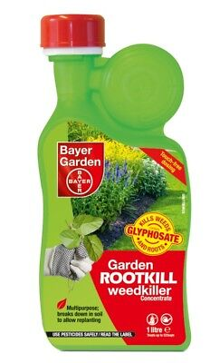 SBM Life Science Bayer Garden Rootkill Weedkiller Concentrate - 1 L