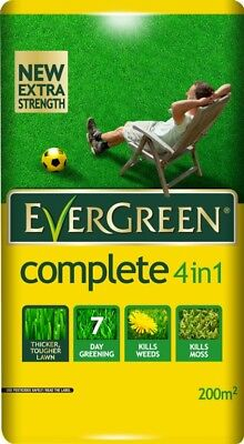 Scotts Miracle-Gro EverGreen Complete 200 sq m Lawn Food, Weed and Moss Killer B