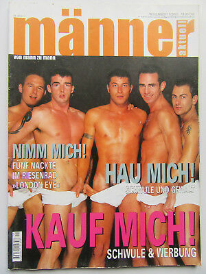 Männer 11/2001, Robbie Williams, Freddy Mercury, Cameron Fox, Fettes Brot