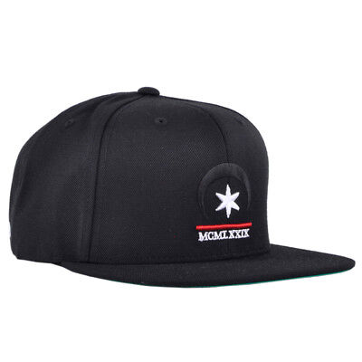5ed196909f7 Black Scale Snapback Hat Occult BLVCK SCVLE Embroidered Authentic Headwear  Mens