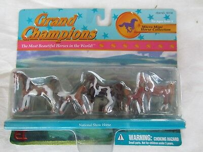 Grand Champions Micro Mini Horses National Show Horses  Sealed 2000