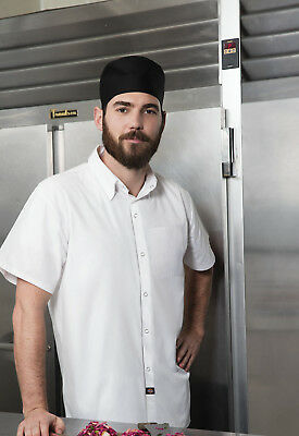 Dickies Chef Men's Short Sleeve Cook Shirt DC60 White Large