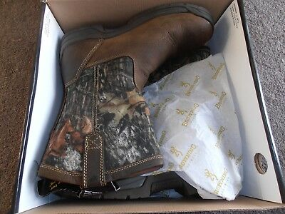 Mens Browning  Wellington Slipon Boots Size 8 Wide