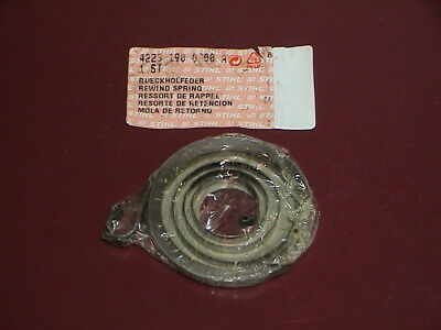 NEW OEM STIHL Concrete Cut-Off Saw Starter Rewind Recoil Spring TS 400 TS400