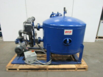 PEP HMF 42 Media Sand Filter 192GPM 5HP 100PSI 208-230/460 3Ph