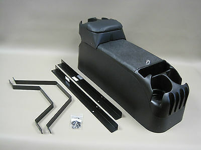 P71 Black Center Console Crown Victoria with Tip Up Armrest and Mounting Kit