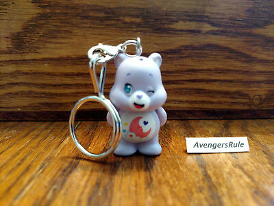 Care Bears Unbearably Cute Vinyl Keychain Series KidRobot Sweet Dreams Bear 2/24