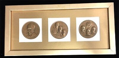 Set of D Eisenhower-Apollo XII & XIII Medal Coin - 3 Pieces