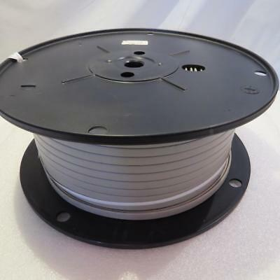 500' ft. Flat 8 Conductor 26 Gauge Stranded Copper Wire Gray Jacket GC Thorsen