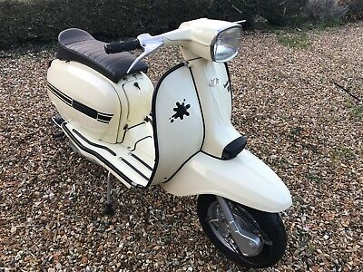 Lambretta Dl125 Gp125 Genuine Italian Scooter 1969 Innocenti