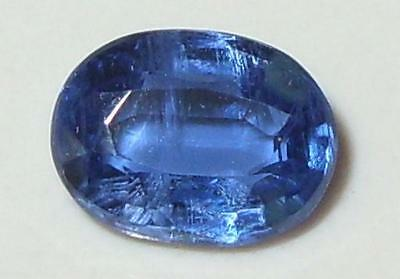 1.50ct Beautiful Top Quality Nepal Blue Kyanite Oval Cut 8x6mm SPECIAL