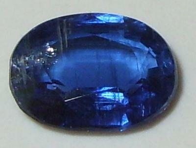 2.61ct Beautiful Color Nepal Blue Kyanite Oval Cut 10x8mm SPECIAL