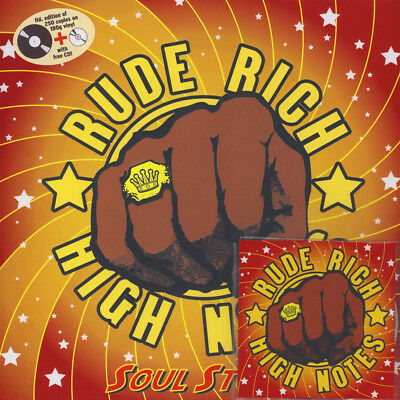 Rude Rich & The High Notes - Soul Stomp (Vinyl LP - 2018 - EU - Original)