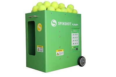 Brand New Spinshot Player Tennis Ball Machine with Phone Remote Control