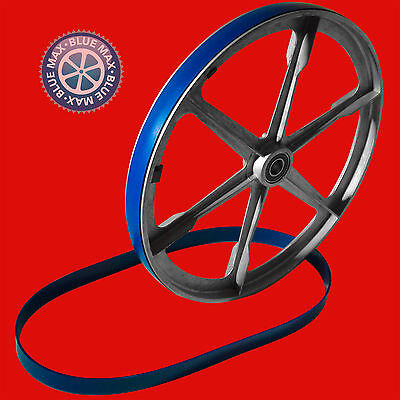 """3 Blue Max Ultra Duty Urethane Band Saw Tires For Inca 20"""" 3 Wheel Band Saw"""