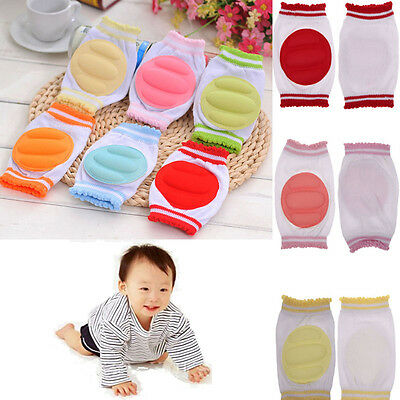 Infants Toddlers Baby Kids Safety Elbow Crawling Cushion Knee Protector Pads New