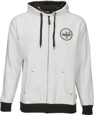 Fly Racing ADULT Fresh Hoody White XL