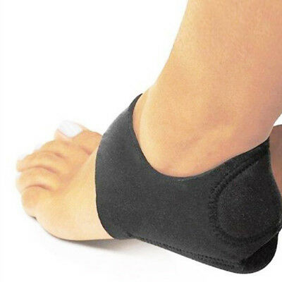 2X Foot Ankle Pads Cushion Plantar Fasciitis Pain Relief Arch Support Wrap Heel