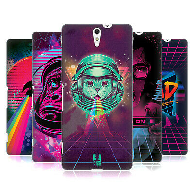 Head Case Designs The 80'S Graphic Vibes Hard Back Case For Sony Phones 2