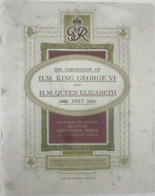 M6 John Player & Sons -Album The Coronation Of King George... - Imperial Tobacco