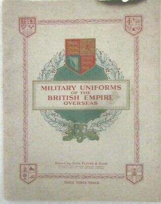 M6 John Player & Sons -Album Military Uniforms Of The ... - Imperial Tobacco
