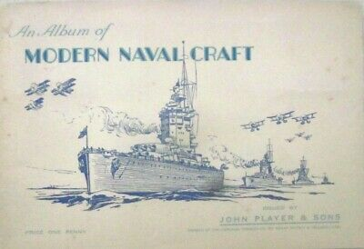 M6 John Player & Sons - An Album Of Modern Naval Craft- Imperial Tobacco Company