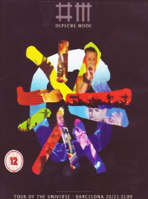 Depeche Mode: Tour of the Universe - Barcelona 20/21:11:09  DVD NEW