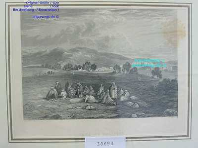 38694-Asien-Asia-Israel-Palestine-CANA OF GALLILEE-Stahlstich-Steel engraving-