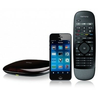 Logitech Harmony Smart Control with Smartphone App and All In One Remote - Black