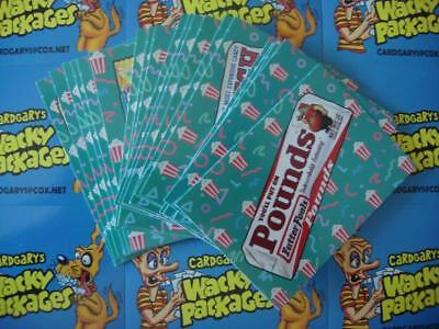 2018 Wacky Packages Go To The Movies Concession Stand Stickers Bonus Set 20/20 *