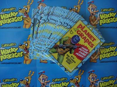 2018 Wacky Packages Go To The Movies Classic Film Stickers Bonus Set All 20/20