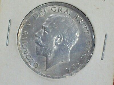 1916 Great Britain 1/2 Crown