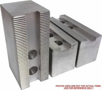 "3pc set Kitagawa, Samchully ht=2.5/"" KT-15251P Steel Soft Jaws For a 15/"" Chuck"