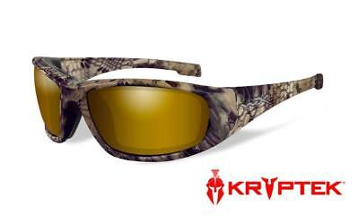 493cc290374 Wiley X WX Boss Sunglasses Pol Venice Gold Lens Kryptic Highlander Frame  CCBOS12