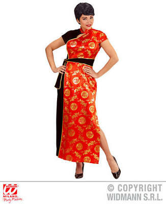 Womens Ladies China Girl Fancy Dress Costume Outfit M