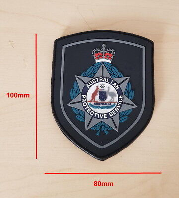 Australian Protective Service Subdued Rubber Patch (social)