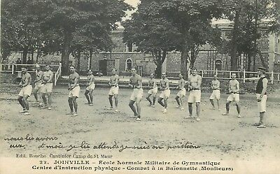 94 Joinville Ecole Normale Militaire De Gymnastique Centre Instruction Physiqu