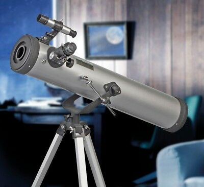 Zennox Telescope Reflector Astronomy 76 x 700 Adjustable Tripod Lens Covers NEW