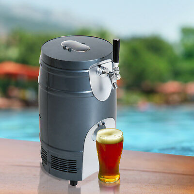 5L Beer Keg Dispenser Electric Cooler Bar Home Tap Wine Club Drinks Beverage ABS