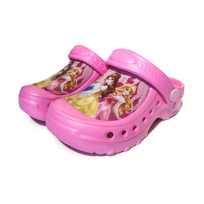 Hot Princess Pink Beach Shoes Fashion Clogs for Kids Girls Comfortable SANDALS