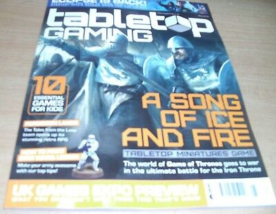 Tabletop Gaming magazine #18 May 2018 Game of Thrones + UK Gaming EXPO Preview