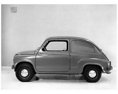 1968 SEAT Fiat Spain 600 Van Truck Factory Photo cb0740